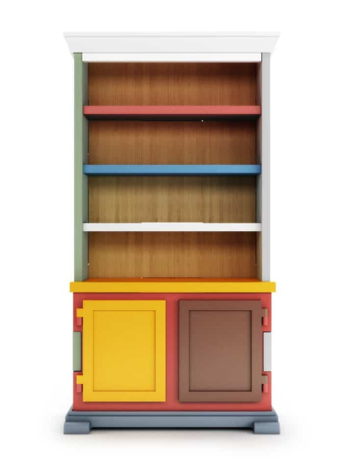 moooi - Paper Cabinet Patchwork