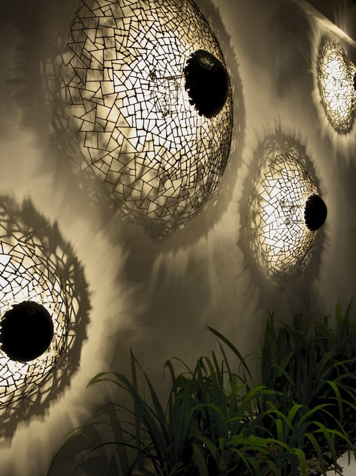 Kenneth Cobonpue - Kris Kros Wall Lamp