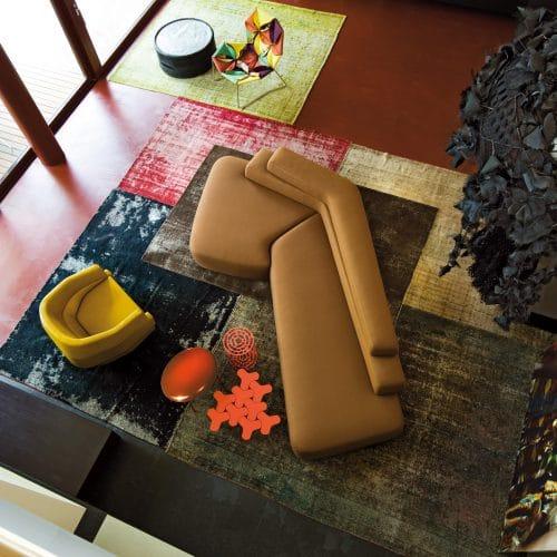 Moroso Rift, Sofas von Patricia Urquiola, 2009