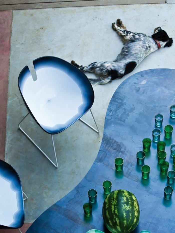 Moroso Fjord, Stuhl von Patricia Urquiola, 2002